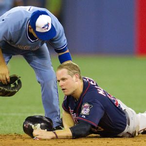 Justin Morneau and John McDonald