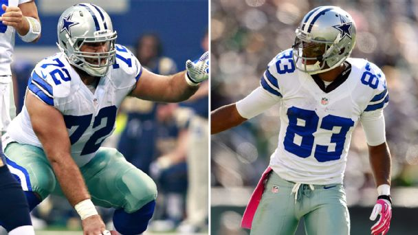 Travis Frederick and Terrance Williams