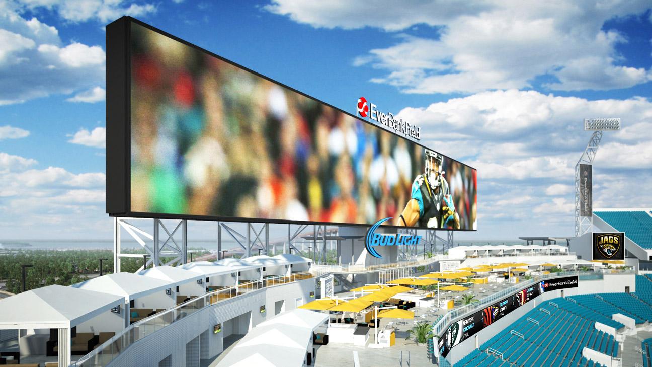 Jacksonville jaguars to have poolside cabanas in stadium - Jacksonville jaguars swimming pool ...