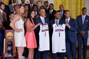 UConn at the White House