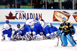 Toronto claimed its first CWHL championship with a 1-0 win over Boston in March.