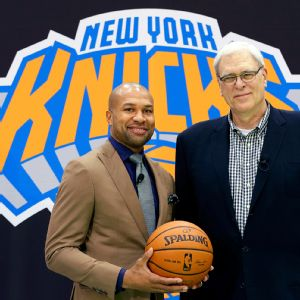 Derek Fisher and Phil Jackson