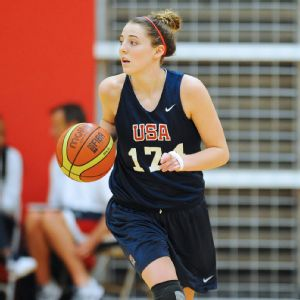 Katie Lou Samuelson will be playing in gyms across the globe this summer with USA Basketball.