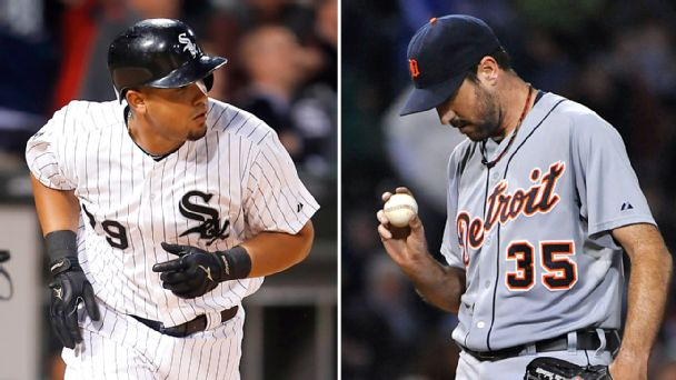 Jose Abreu and Justin Verlander