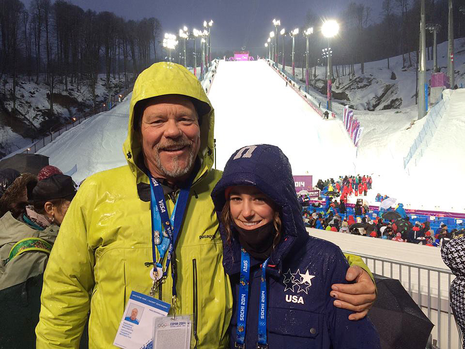 Brita Sigourney, Olympic freeskier