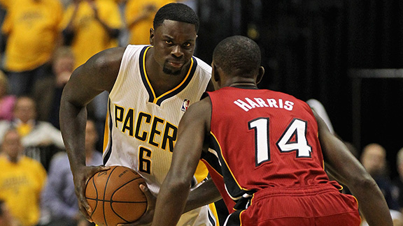 Lance Stephenson, Terrel Harris