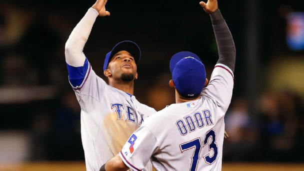 Elvis Andrus and Rougned Odor