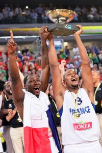 Florent Pietrus and Boris Diaw