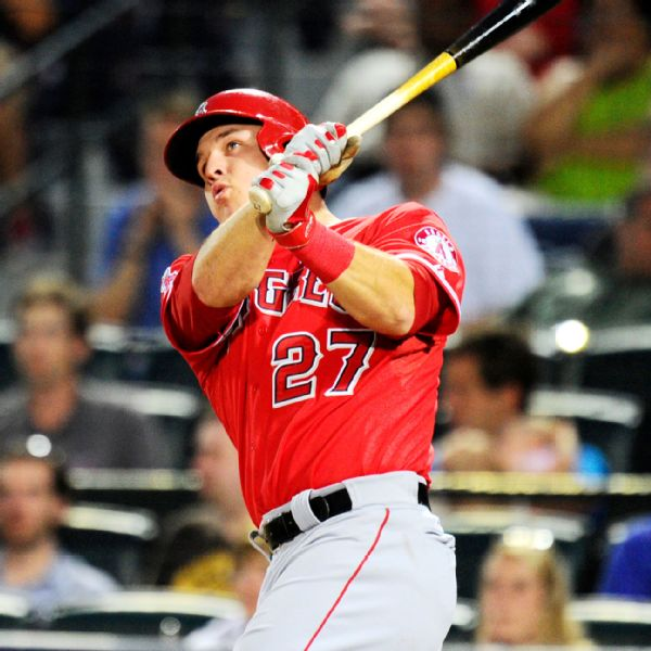 Mike Trout Stats, News, Pictures, Bio, Videos