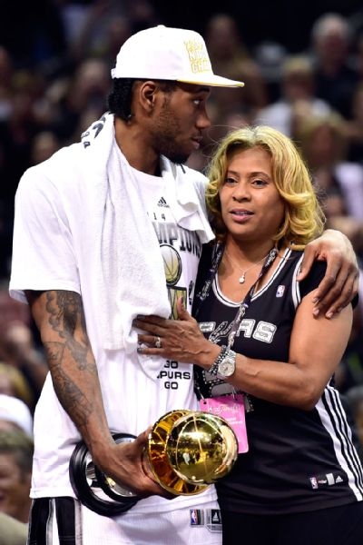2014 NBA Finals: Kawhi Leonard trip to Finals MVP without his dad