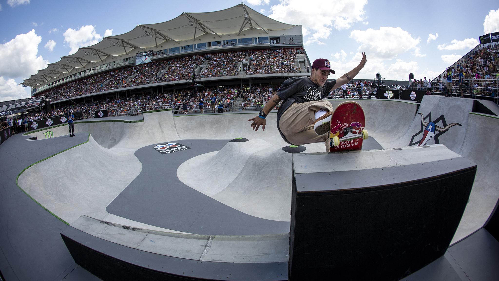 Skateboard Park -- Pedro Barros