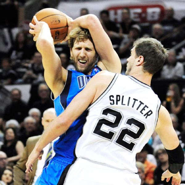 Dirk Nowitzki 2014 Playoffs