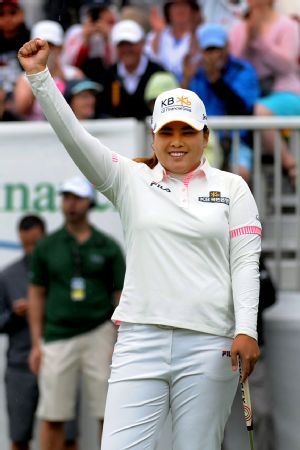 Inbee Park won in Canada on June 8, her first victory since last year's Women's Open.