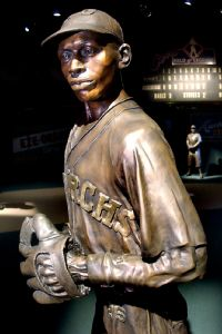 Satchel Paige statue