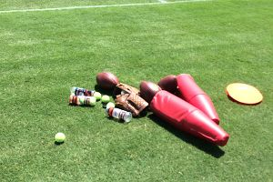 Tennessee Titans practice equipment