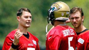 Chad Henne and Blake Bortles