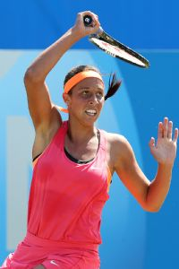 Madison Keys may be the youngest player in the top 50, but she has the game to make a run.