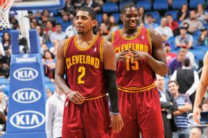 Kyrie Irving and Anthony Bennett