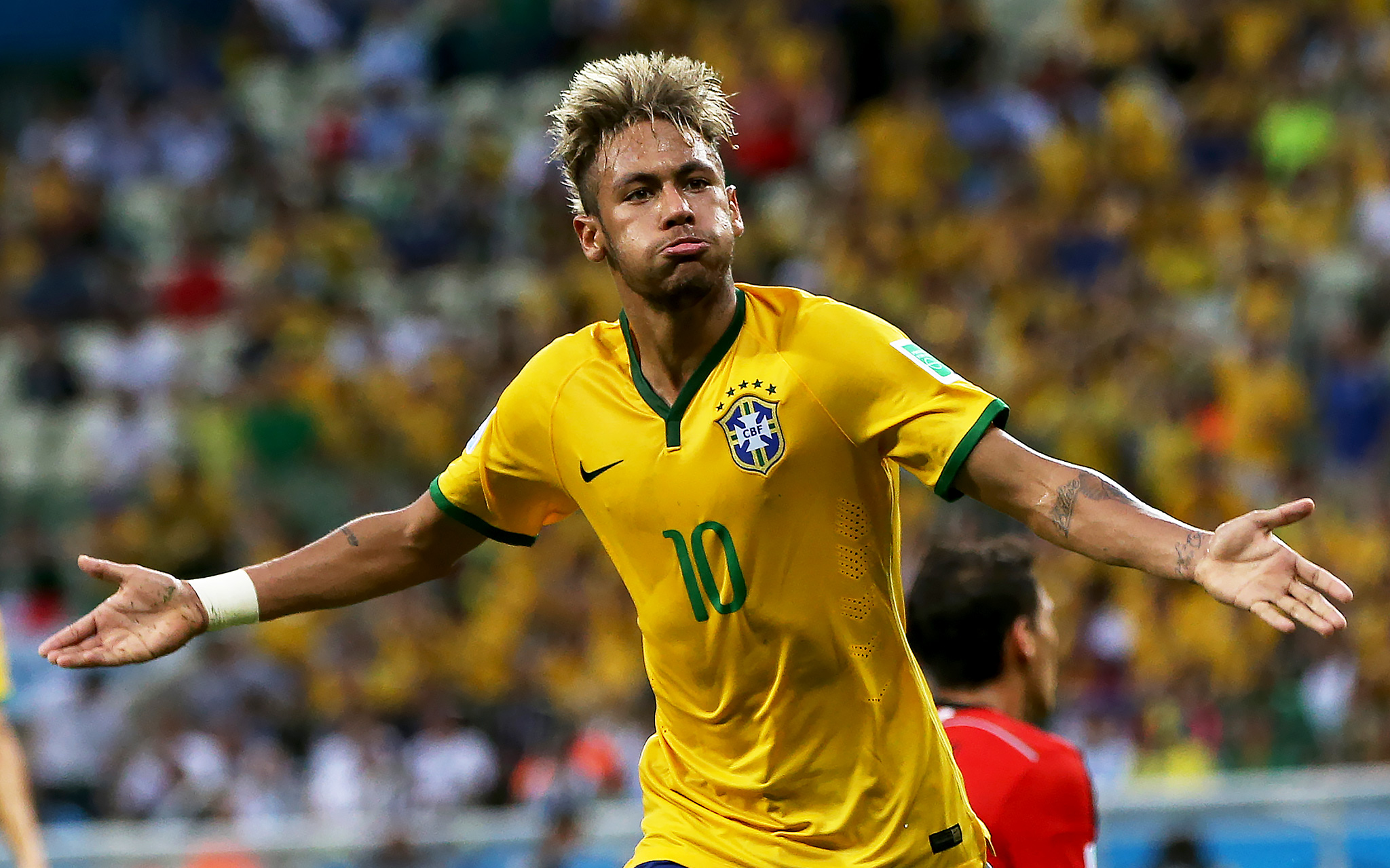 Neymar Jr. (Brazil) - World Cup Hair - ESPN Neymar Jr Brazil 2014