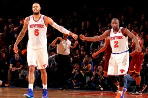 Tyson Chandler and Raymond Felton