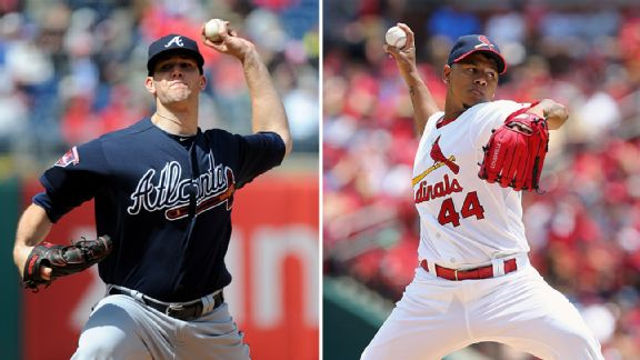 Alex Wood and Carlos Martinez