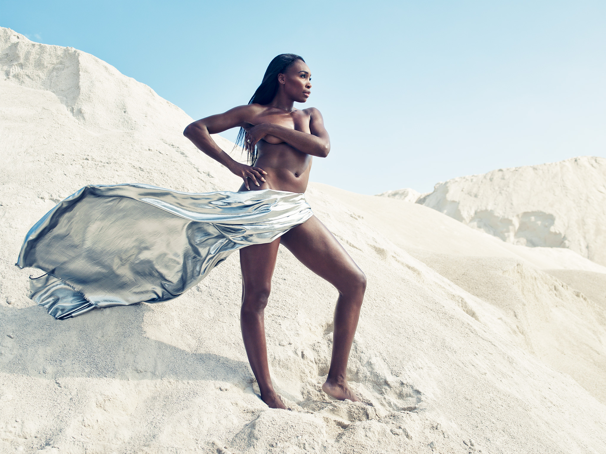 Venus Williams, ESPN The Bodies We Want 2014, The Body Issue 2014, Venus Williams naked