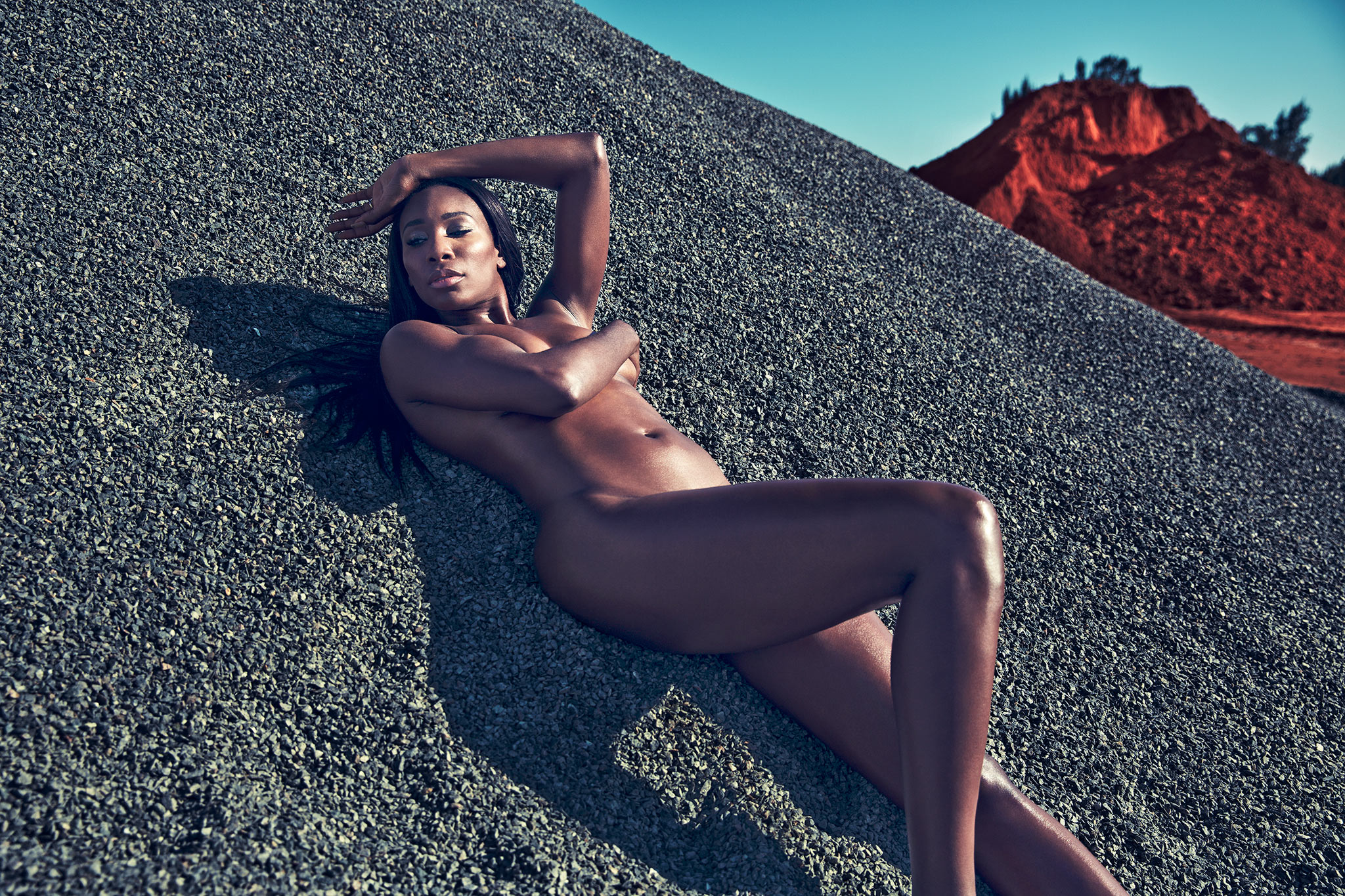 serena williams nude Espn