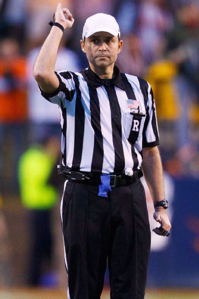 nfl referee assignments Now a white hat referee in the pac-12, he wants to come out publicly to help  others  if someone loses assignments because he's gay  guys like [nfl  linesman] patrick turner have been very helpful to me, so when he or.