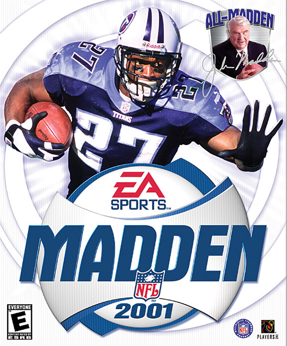 Eddie George Madden Cover