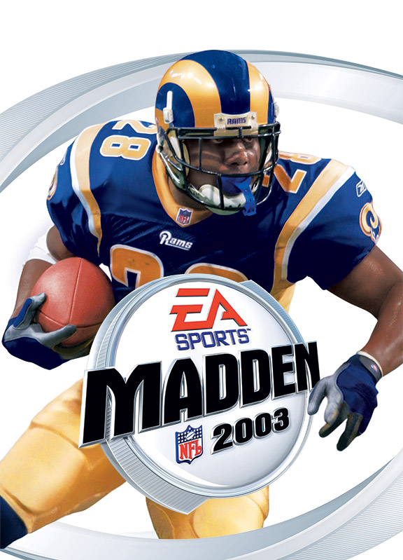 Marshall Faulk Madden Cover