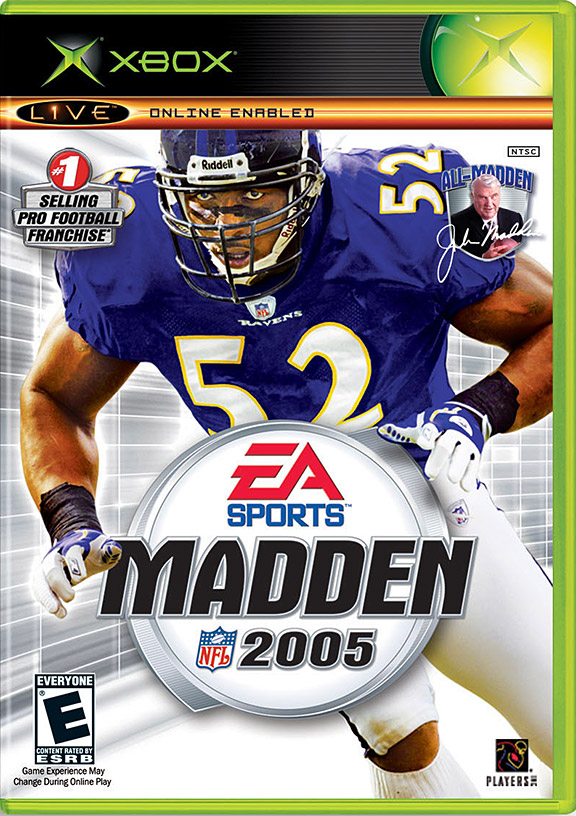 Ray Lewis Madden Cover
