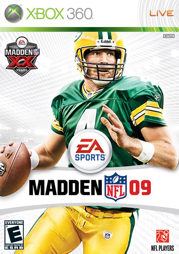 Brett Favre Madden Cover