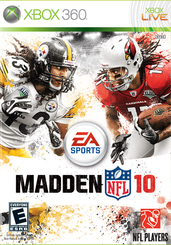 Troy Polamalu, Larry Fitzgerald Madden Cover