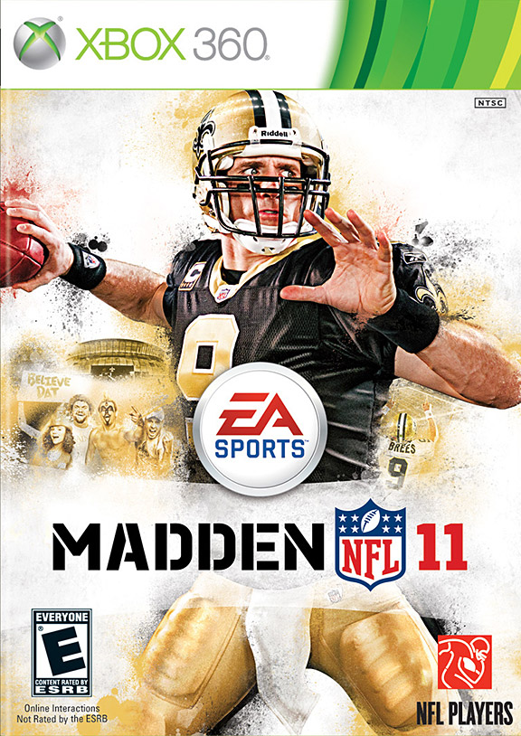Drew Brees Madden Cover