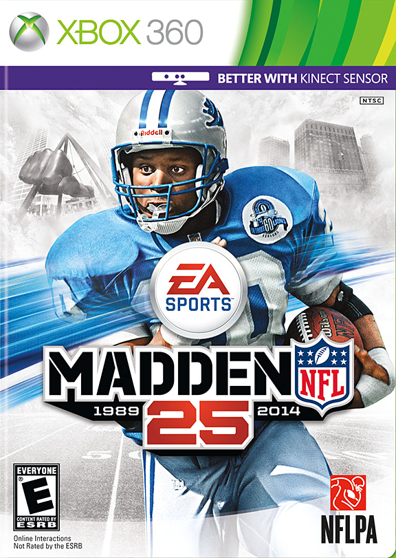 Barry Sanders Madden Cover