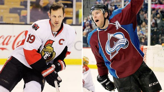 Jason Spezza, Paul Stastny