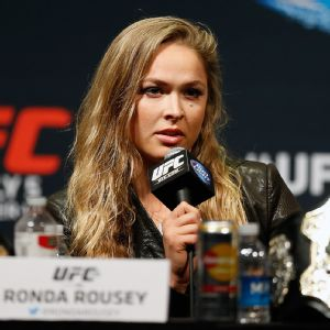 Ronda Rousey is 10-0 fighting in the UFC. She knocked out No. 1 contender Alexis Davis in 16 seconds at UFC 175 in early July.