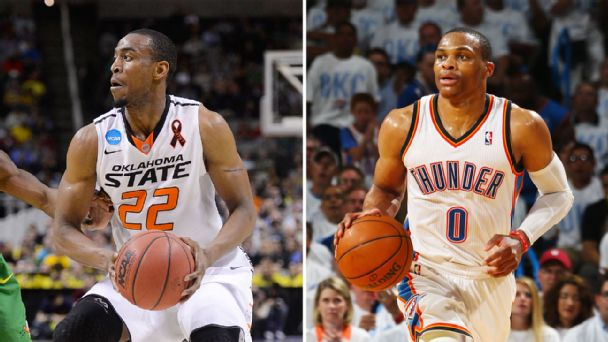 Markel Brown, Russell Westbrook