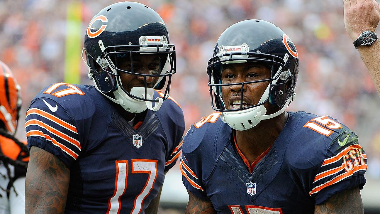 Chicago Bears' Jay Cutler praises Alshon Jeffery, No. 1 ...