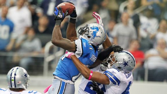 Lions' top plays: Johnson triple-covered