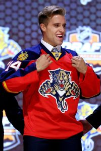 Panthers select D Ekblad first in NHL draft