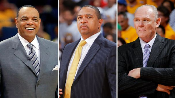 Lionel Hollins, Mark Jackson & George Karl