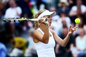 Caroline Wozniacki came up short again on the court, but she had some fun time off it.