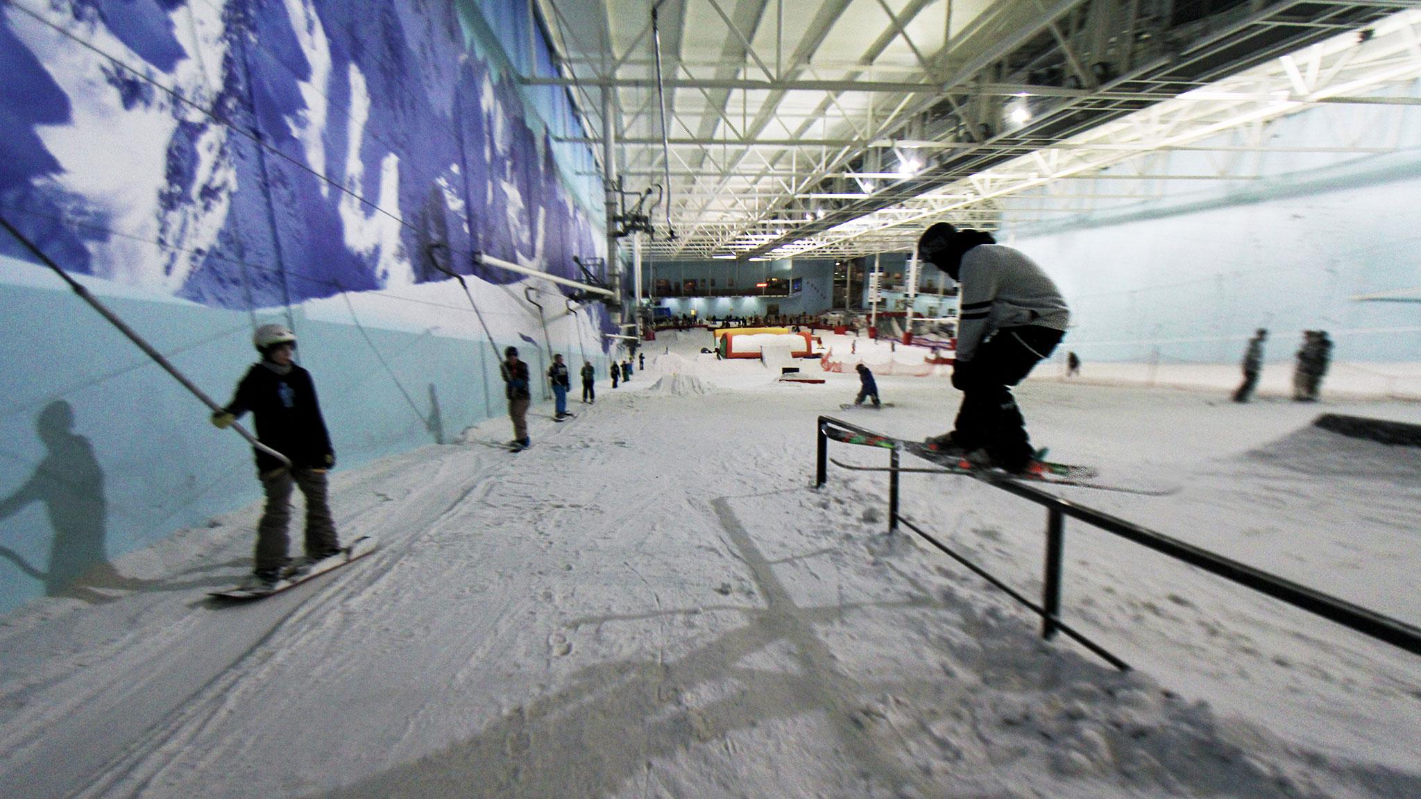 snowworld landgraaf, holland - best indoor ski resorts around europe