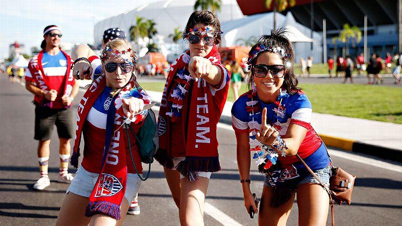 Women Soccer Fans
