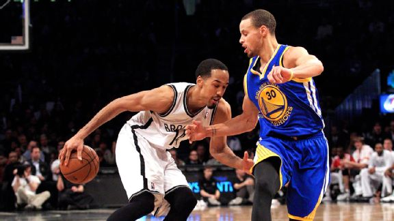 Shaun Livingston and Stephen Curry