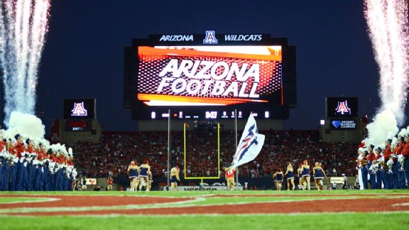 Arizona Stadium scoreboard