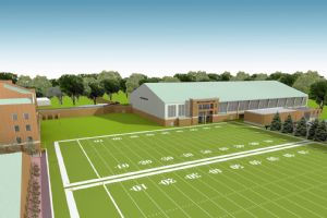 Wake Forest practice facility rendering