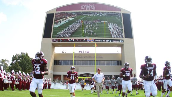 Mississippi State scoreboard