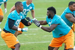 Dion Jordan and Terrence Fede